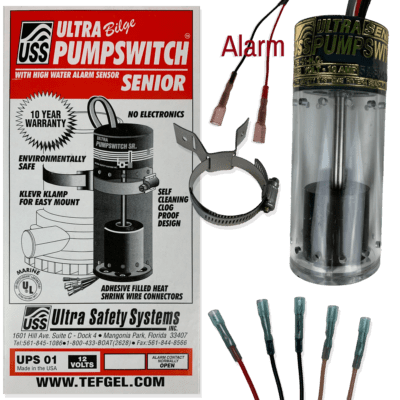 Ultra bilge pumpswitch™ Sr 12v