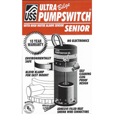 ULTRA Bilge Pumpswitch for your Boat
